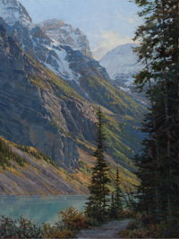 Lakeshore Trail - Lake Louise, Canadian Rockies