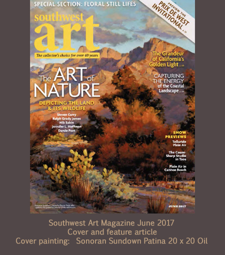 Southwest Art June 2017