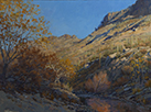 Autumn Canyon Glow  18 x 24 Oil