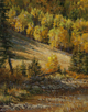 Dappled in Autumn Gold  18 x 14 Oil