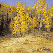 Inlaid in Autumn (Piney Lake Trail) 20 x 20 Oil
