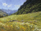Meadow Sparkle 18 X 24 Oil