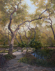 Meander through Magic 52 x 40 Oil