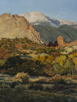 October Sunrise - Garden of the Gods  24 x 18 Oil