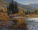 River Glitter #2  24 x 30 Oil Commission