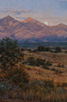 Santa Rita Harvest Moon  30 x 20 Oil