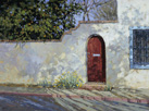 Shadow Dance - Historic Tucson  Acrylic