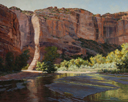 Streaks of Sunrise-Canyon de Chelly  24 x 30 Oil