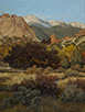 Sun Grazed-Garden of the Gods 24 x 18 Oil