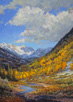 Tapestry of Autumn II 40 x30 Oil
