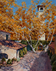 Tlaquepaque Autumn  14 x 11 Oil