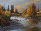 Tumbled in Autumn  18 x 24  Oil