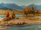 Yellowstone River Sparkle 30 x 40 Oil